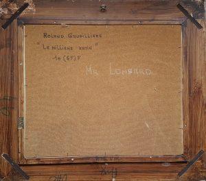 1975 le millième matin 10(6F)F verso