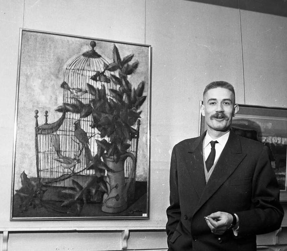 1961 la cage 20F 0,73-0,60 bernard Faille Site Mémoire Vive