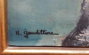 1960 Bonifacio signature