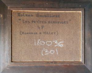 1981 les petites glaneuses 4F verso