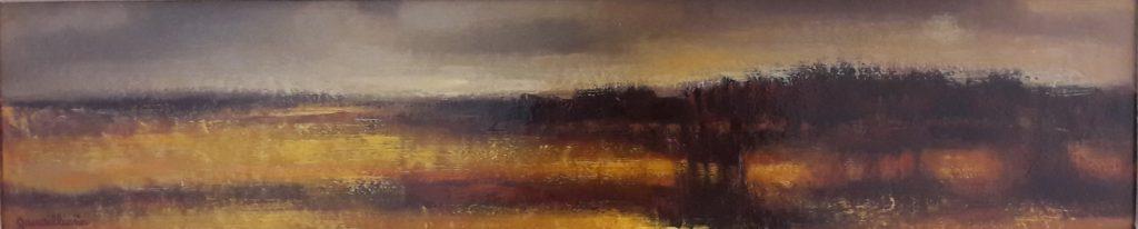 1971 paysage n°2 HF4 0,13-0,61 isorel