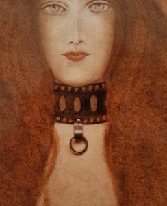 1985 la femme au collier détail (2)
