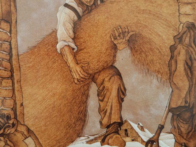 La botte de paille – Hommage à mon maître N.E.