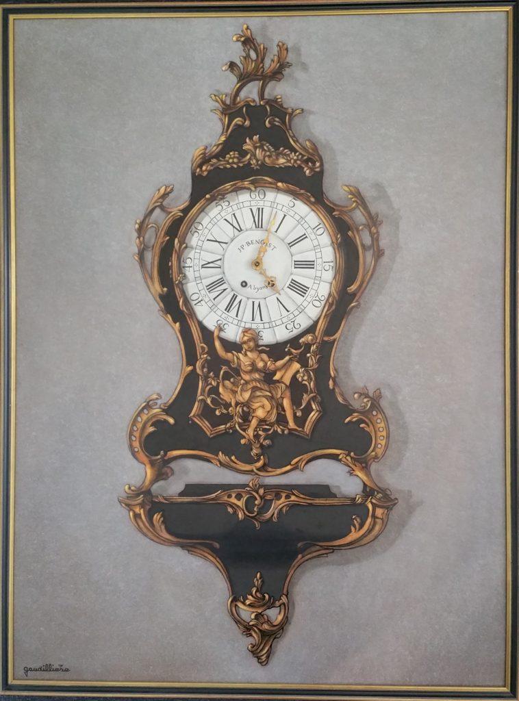 1986 le cartel Louis XV 25P