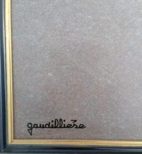 1986 le cartel Louis XV signature