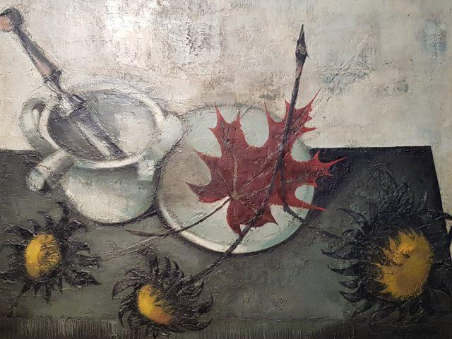 Nature morte aux tournesols