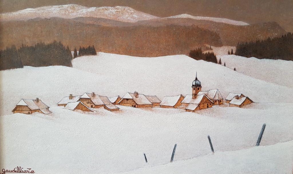 1995 le village au fond de la vallée 2P 0,16-0,24 isorel