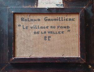 1995 le village au fond de la vallée 2P verso