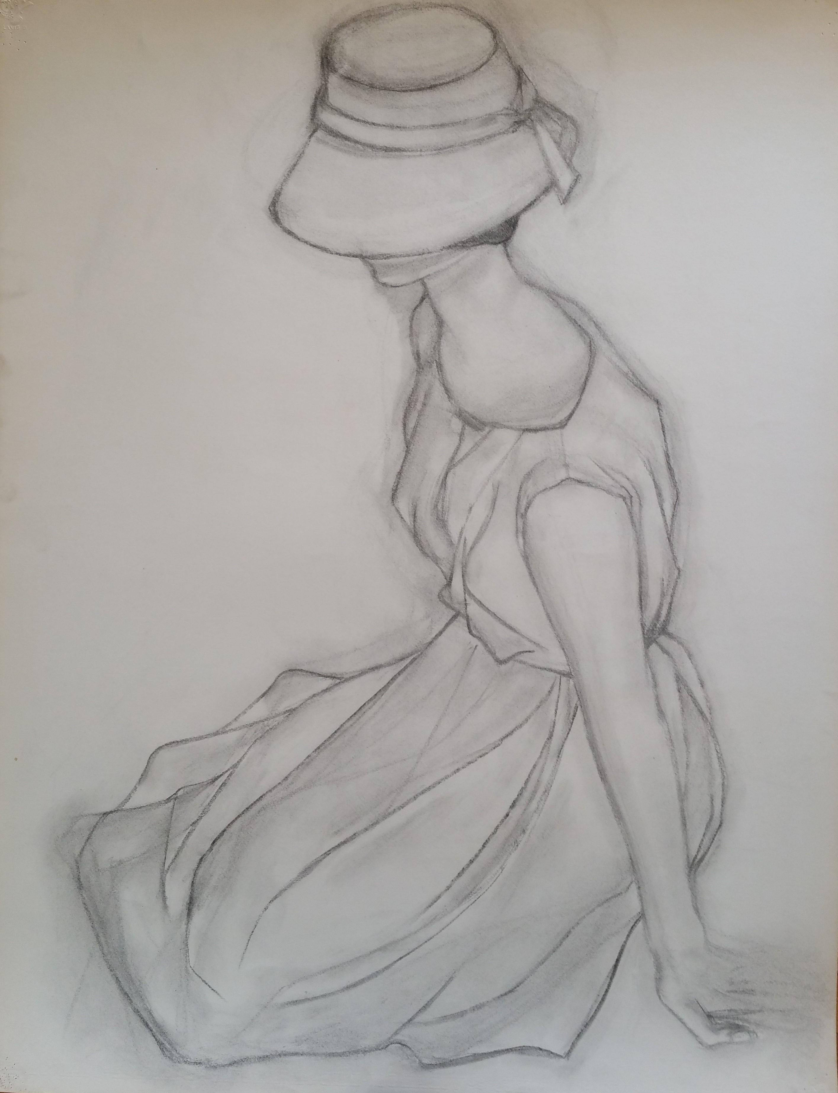 1951 Femme au chapeau