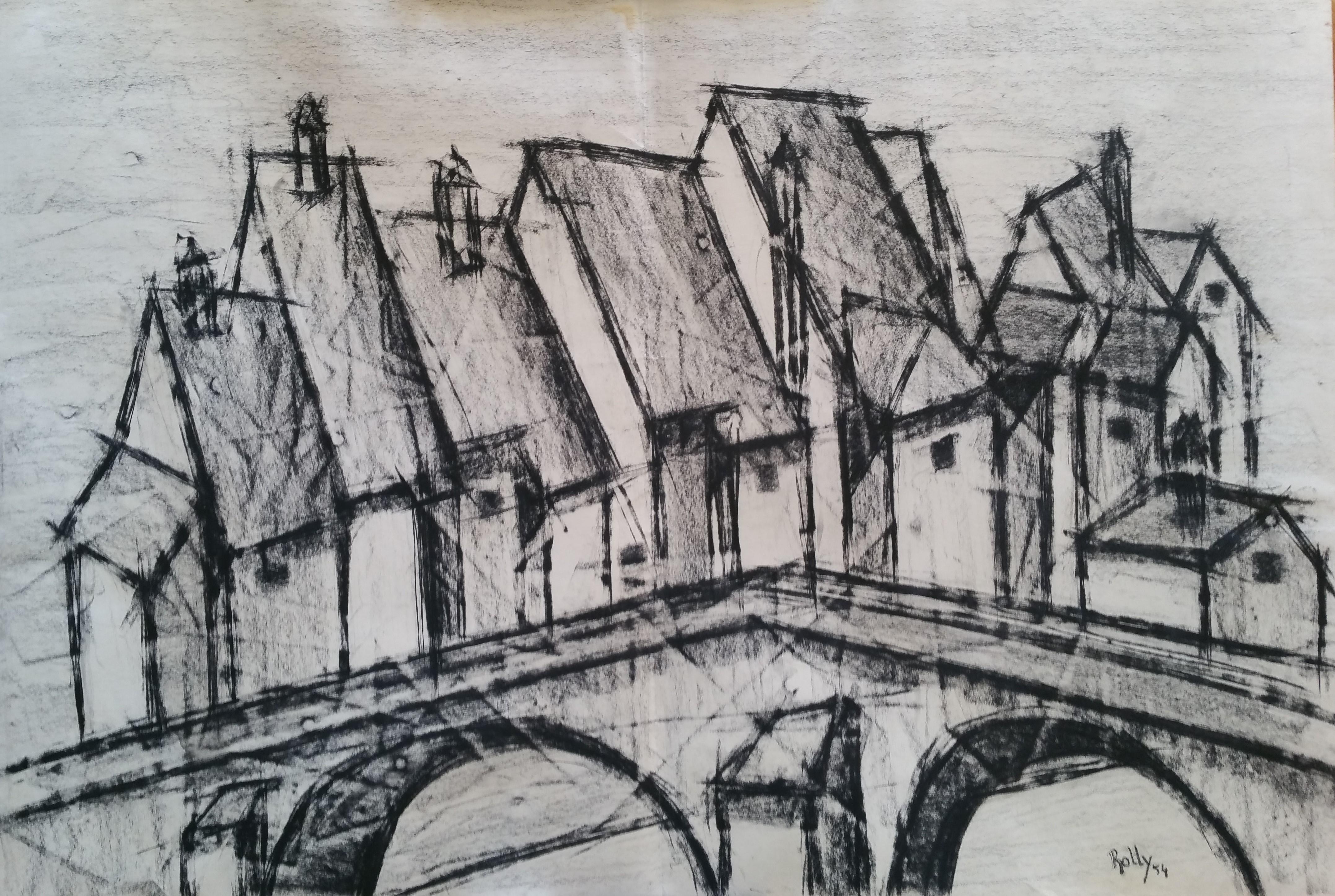 1954 Le vieux pont
