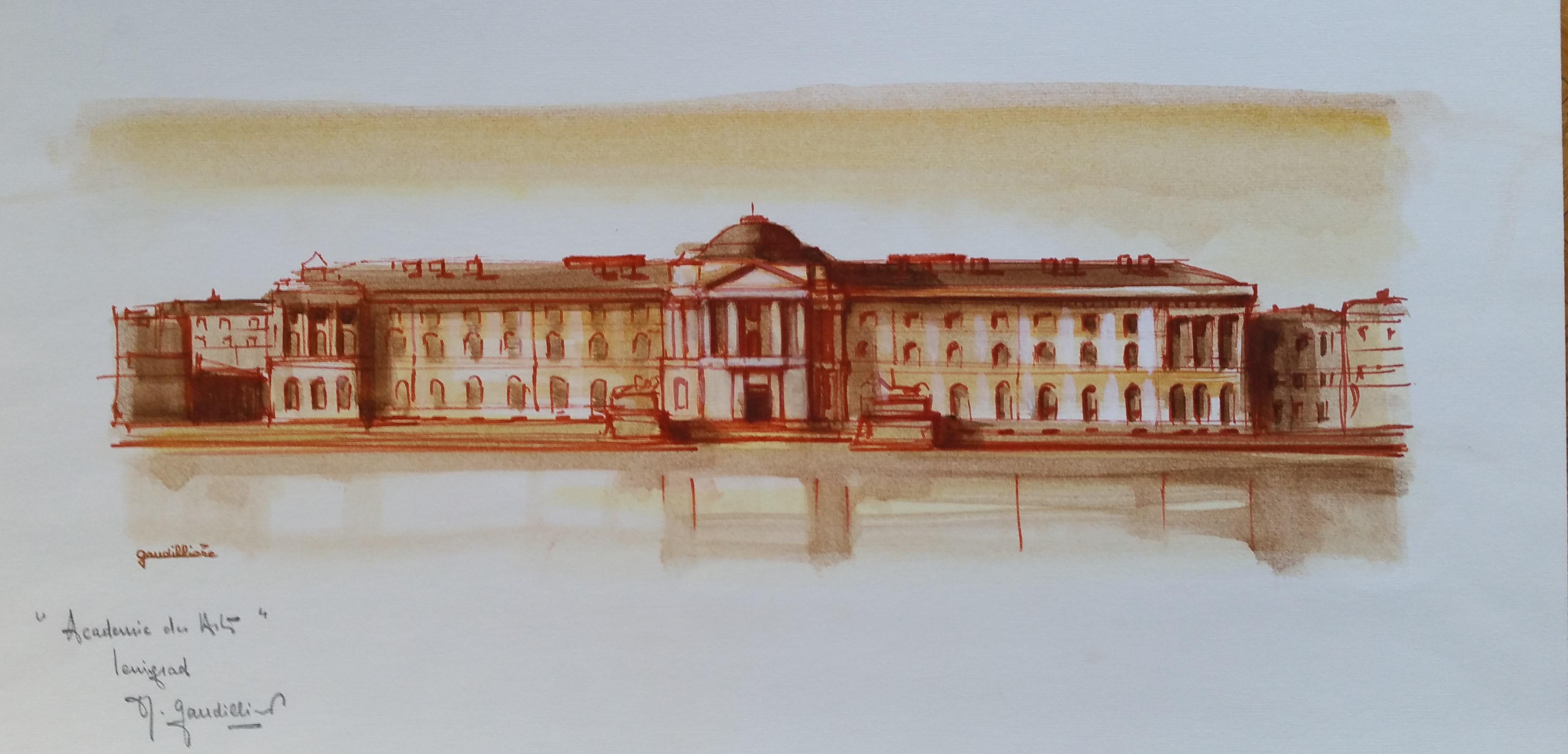 1960 Leningrad académie des arts