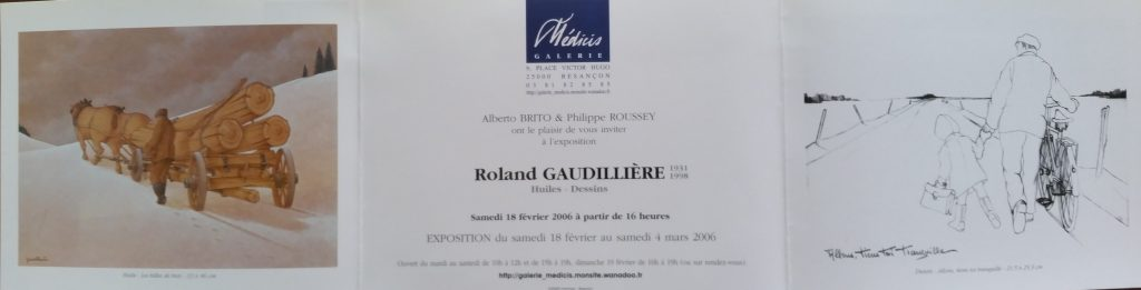 110-2006 carton d'invitation expo Médicis