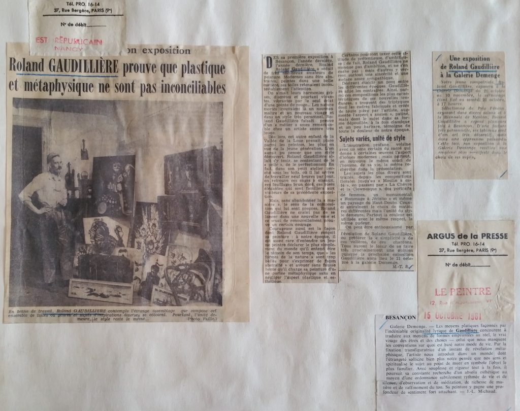 18-1961 expo gal.Demenge Besançon