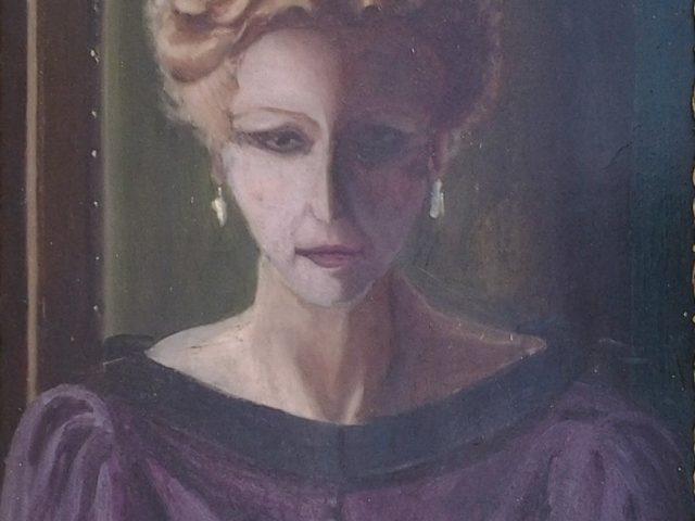Portrait d'Elza, mère de l'artiste