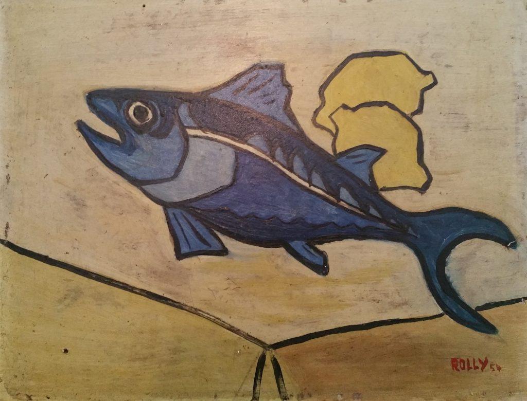 1954 arête de hareng aux citrons