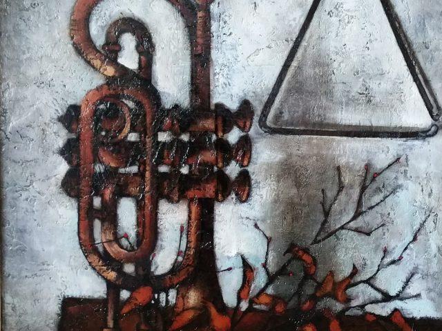 La trompette ou Nature morte à la trompette