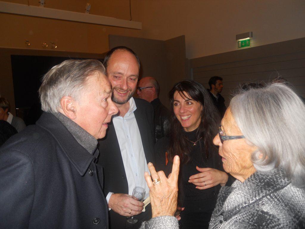 claude Mayer,renaud,sandrine et mamy