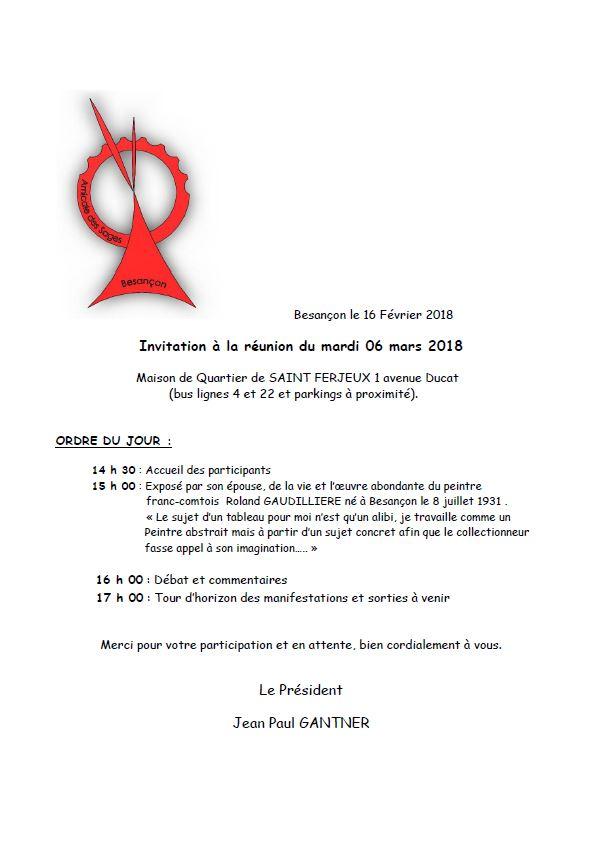 2018 6 mars invitation