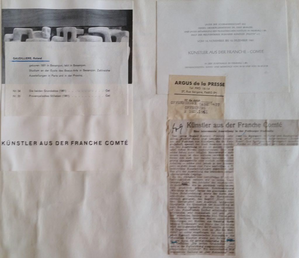 22-1961 expo groupée Fribourg
