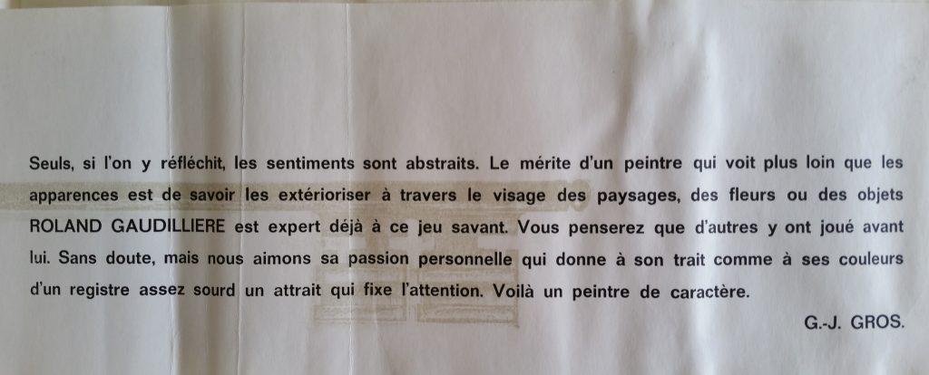 27-1962 carton d'invitation expo Demenge