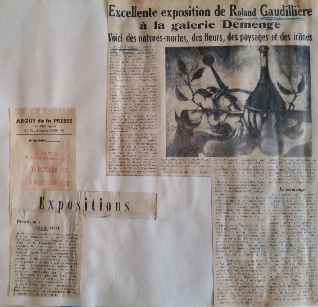 28-1962 expo gal.Demenge