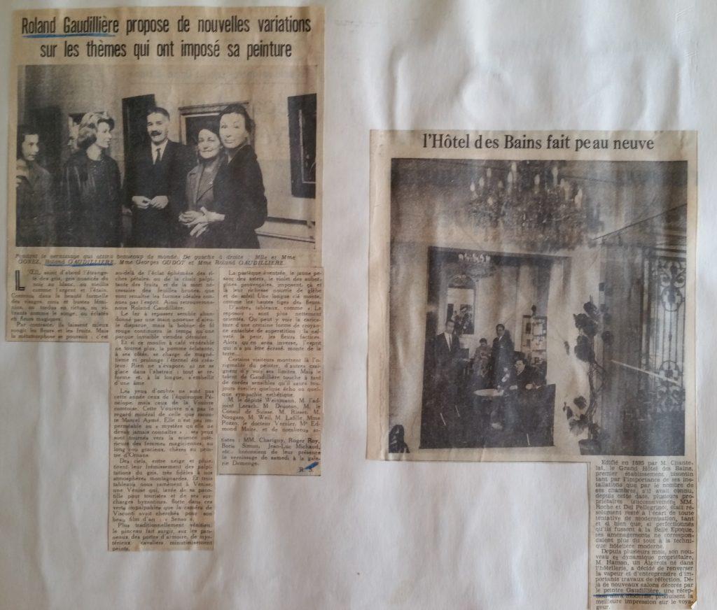 29-1962 gal.Demenge,décoration de l'hôtel des Bains Besançon