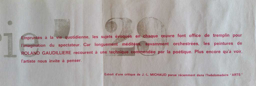 32-1963 carton d'invitation expo gal.29