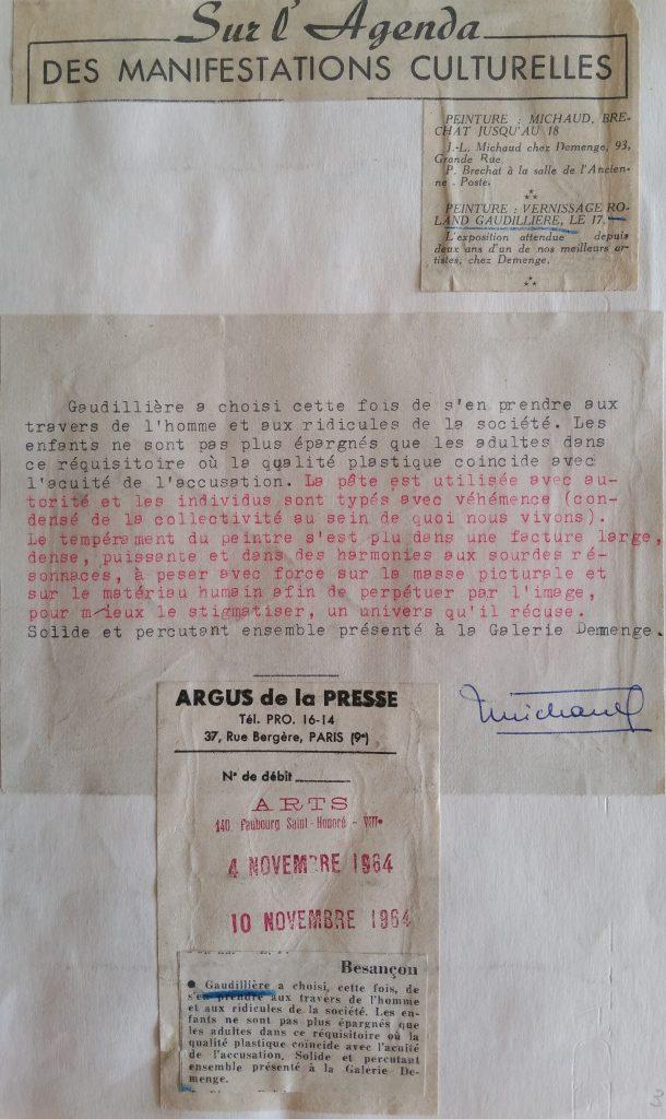 37-1964 expo gal.Demenge