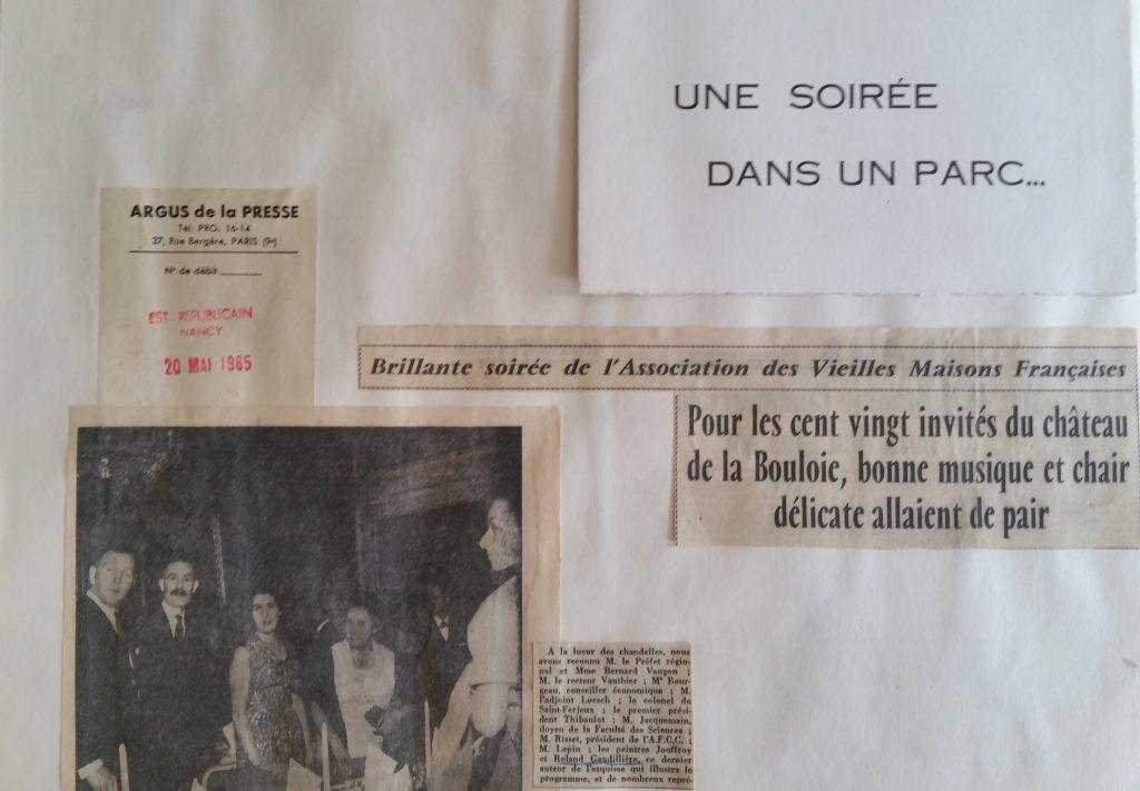 46-1965,réception Chateau de la Bouloie