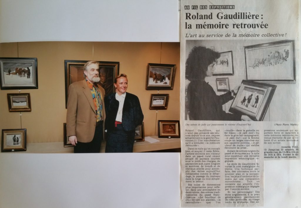 95-1991 expo gal.Fauconnet