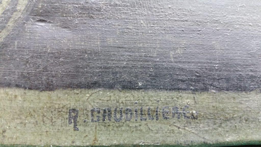 1955 la De Dion Bouton signature