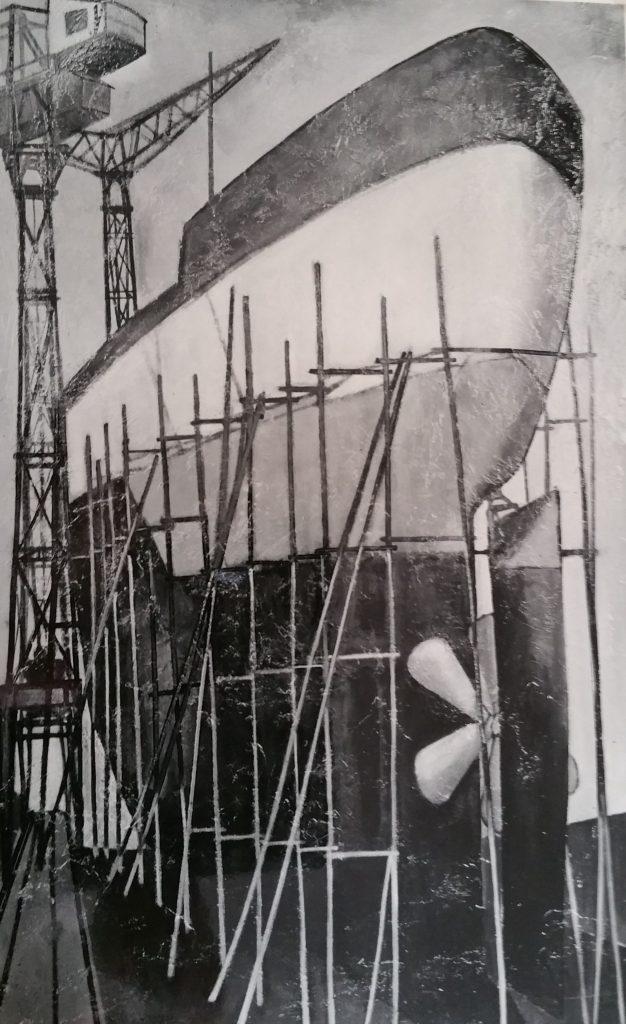 1958-6 la cale séche