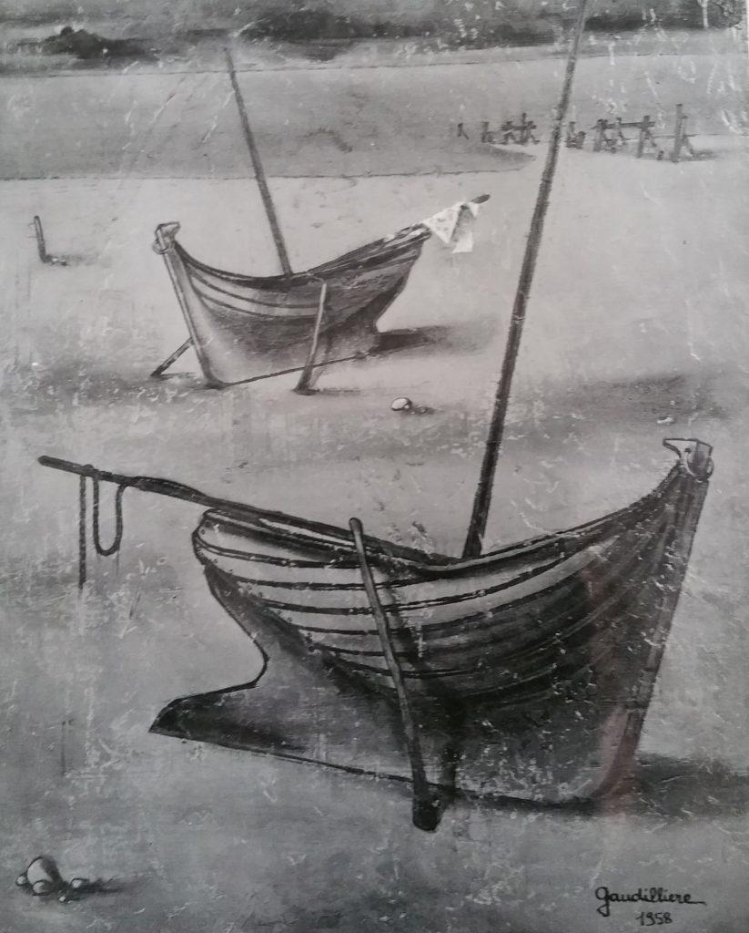 1958-7  les barques 0,72-0,59 isorel