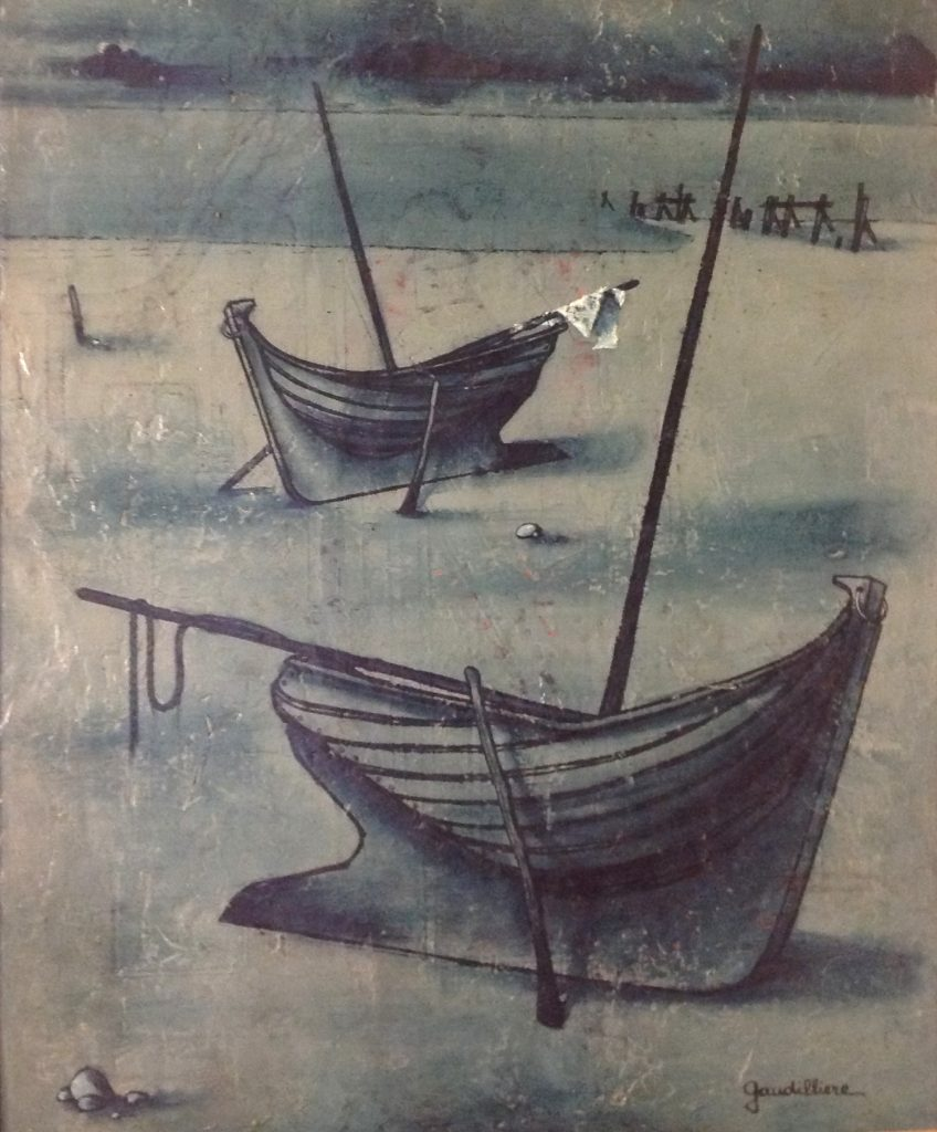 1958 les barques 0,72-0,59 isorel