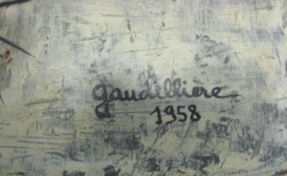 1958 les oursins,signature
