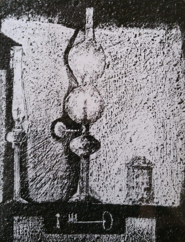 1959-1 les trois lampes 25P 0,81-0,60 isorel