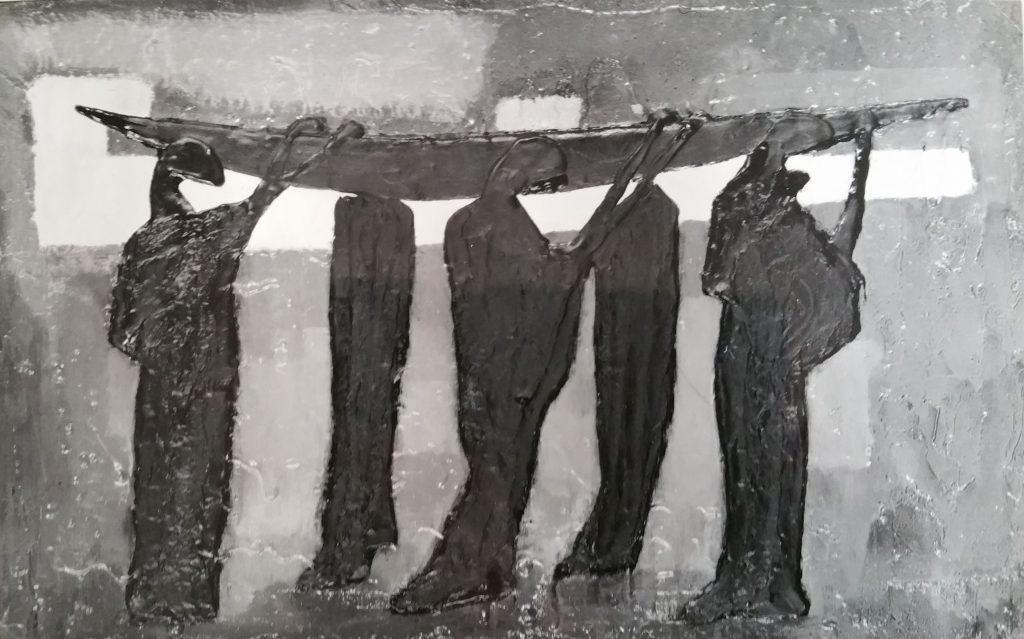 1959-9 l'enterrement ou la barque funéraire n° 3