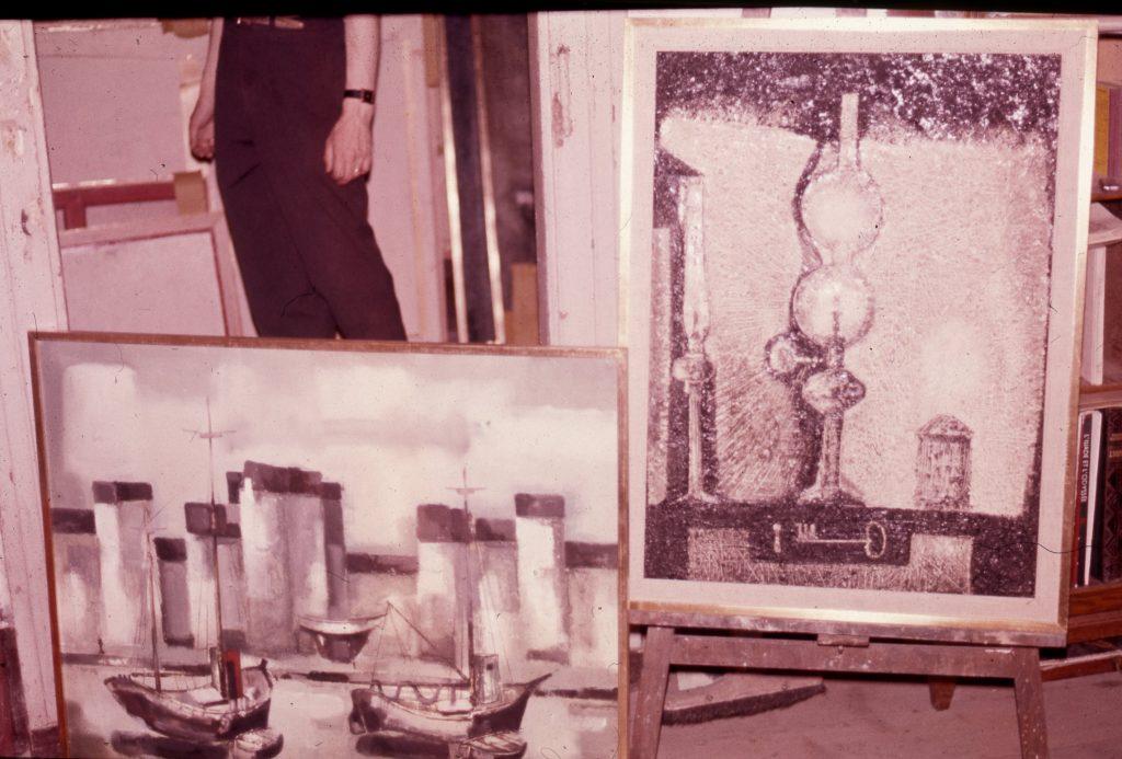 1959 les trois lampes,diapo, 25P 0,81-0,60 isorel 1960 le port,diapo,30F 0,73-0,92 isorel