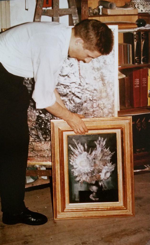 1960-46  le bouquet blanc et Roland 10P 0,55-0,38 isorel