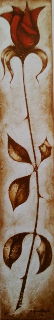 1960-49 la rose rouge HF5 isorel