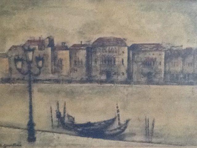 Venise- le lampadaire