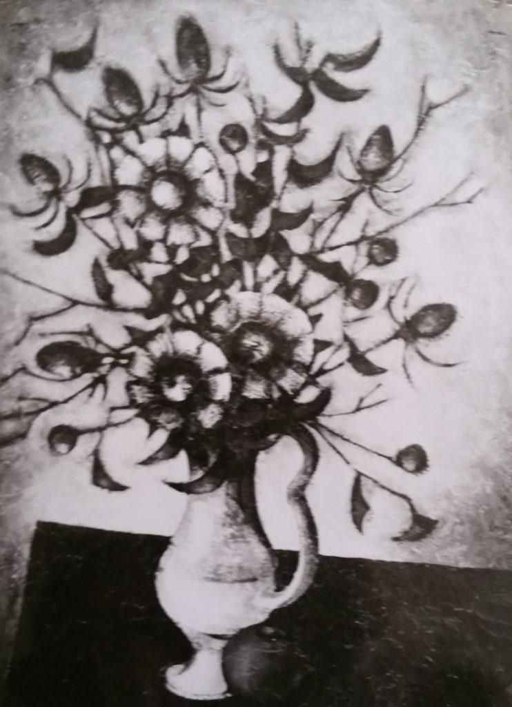 1962-21 les fleurs mortes 25P 0,81-0,60 isorel
