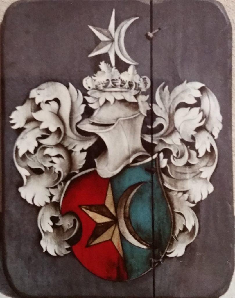 1965-46 armoiries Weber 0,56-0,44 panneau bois