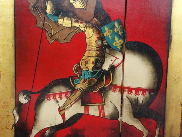 Cavalier- boule icône