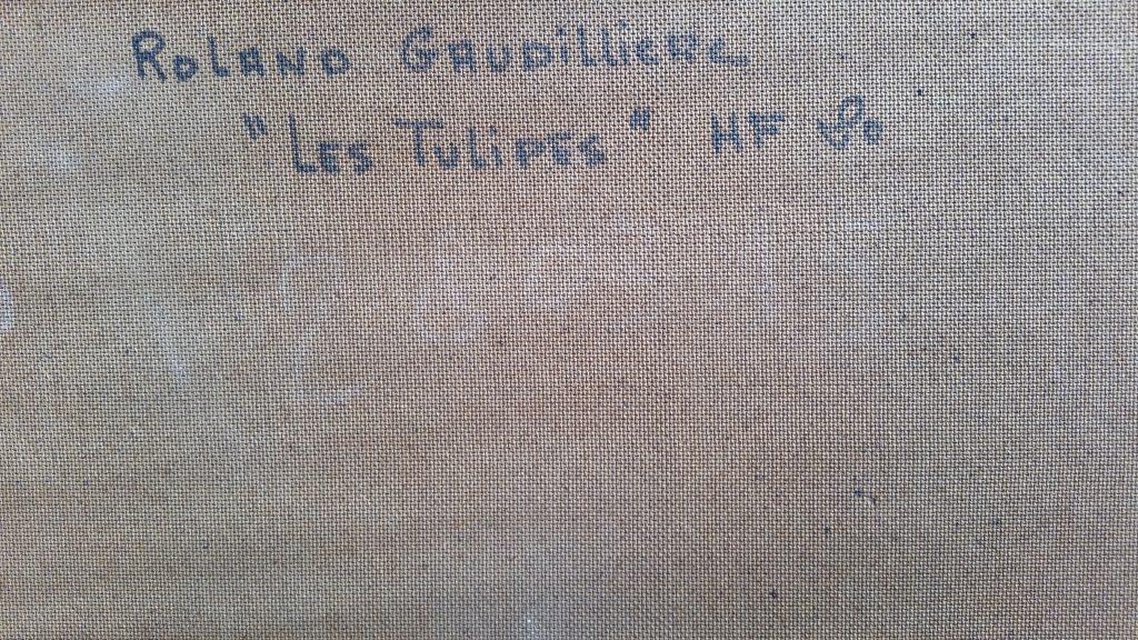 1969 les tulipes verso