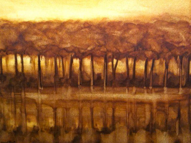 Reflets – Les arbres