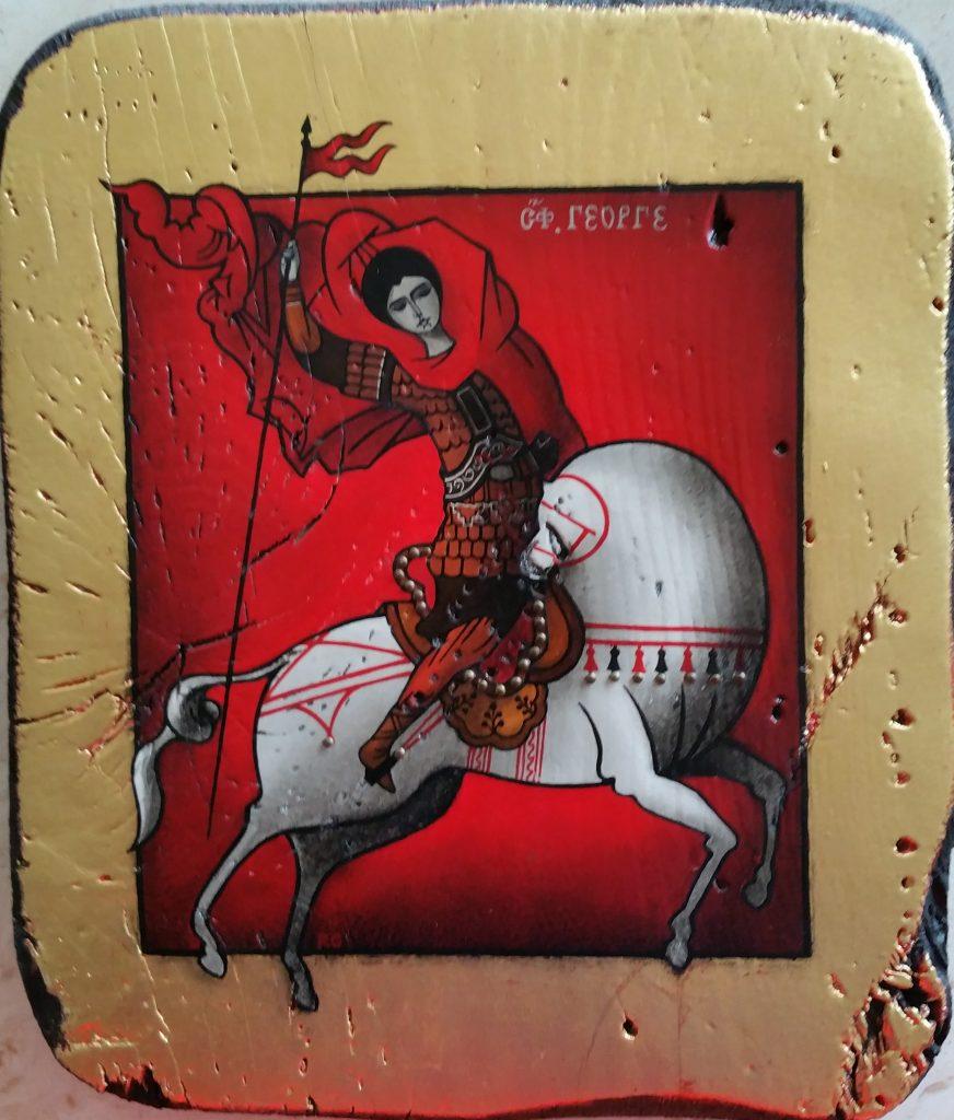 1976 cavalier-boule 0,25-0,21 panneau bois icône
