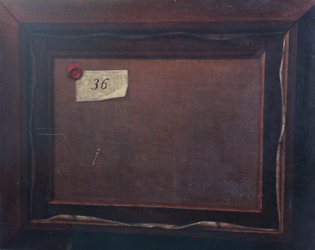 1977 le tableau retourné 12F 0,61-0,50 isorel