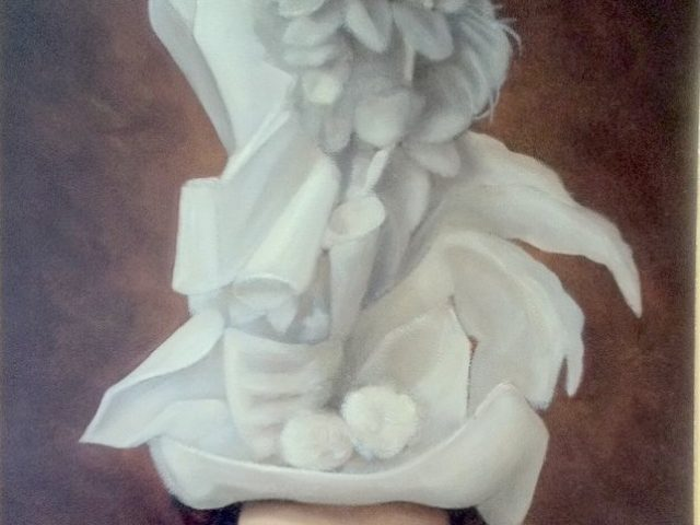 La jeune femme au chapeau blanc ou le rêve