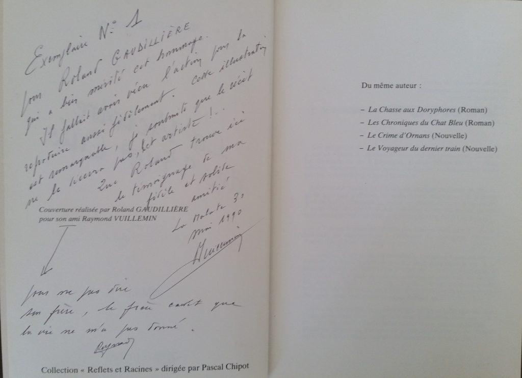 1978 la victoire des vingts culs,dédicace de l'auteur